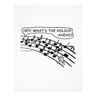 What's The Holdup? Letterhead