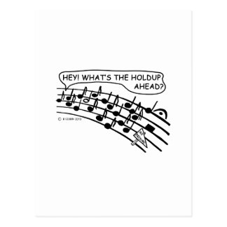 What's The Holdup? Post Cards