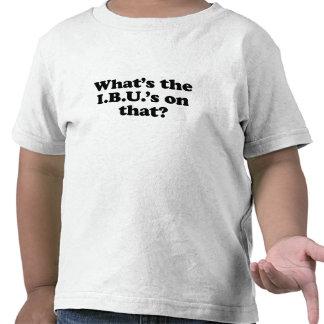 Whats the IBUS on that? Tshirt