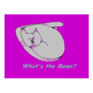 whats the Mews Postcard