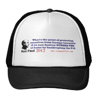 What's the Point of Destroying Ourselves Trucker Hat