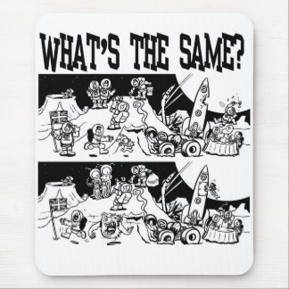 What's the Same? Mouse Pad