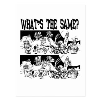 What's the Same? Post Card