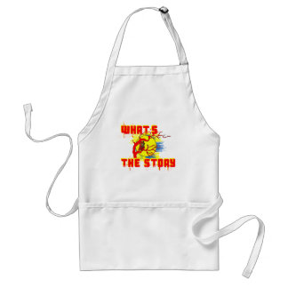 What's the Story Adult Apron