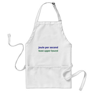 What's up adult apron