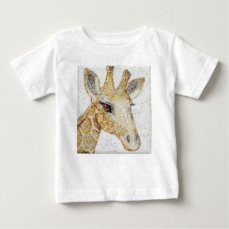 What's Up? Big eyes Giraffe Baby T-Shirt