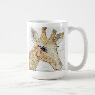 What's Up? Big eyes Giraffe Coffee Mug