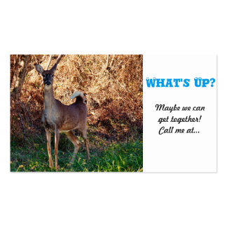 What's Up? Double-Sided Standard Business Cards (Pack Of 100)