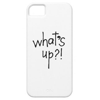 What's Up iPhone 5 Cases