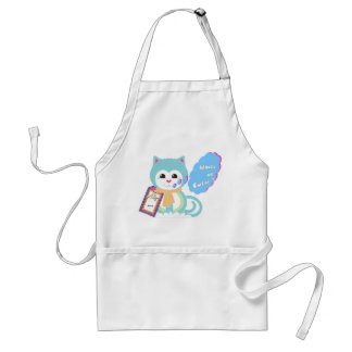 What's up cutie adult apron