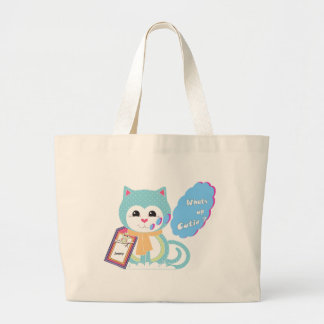 What's up cutie canvas bags