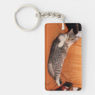 What's Up? Dinner Ready? Keychain
