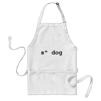 What's Up Dog Adult Apron