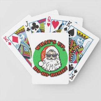 What's Up Homie Santa Claus Bicycle Card Decks