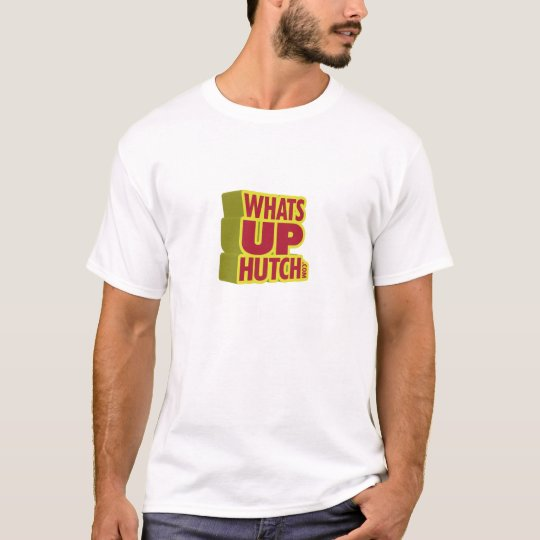 What's Up Hutch Basic Logo T-Shirt