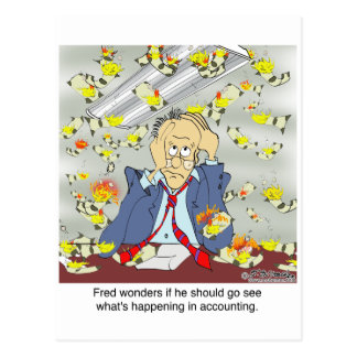 What's Up in Accounting? Postcard