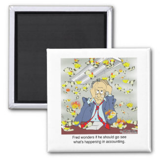 What's Up in Accounting? Refrigerator Magnet