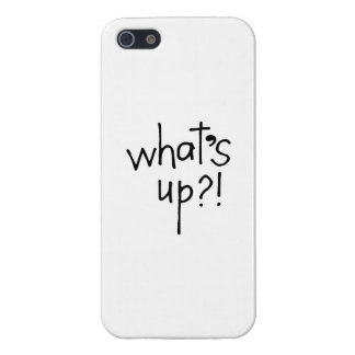 What's Up iPhone 5/5S Cover