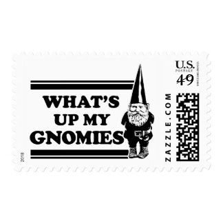 What's Up My Gnomies Postage