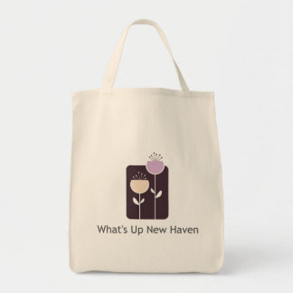 What's Up New Haven Grocery Tote