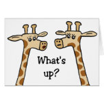 What's up? Notecards Greeting Card
