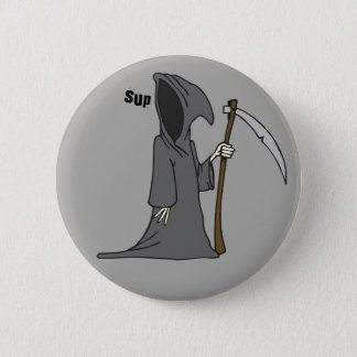 what's up? pinback button