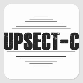 Whats Up Sect-C? Square Sticker