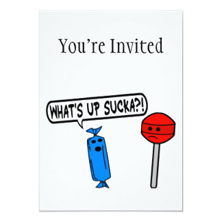 What's Up Sucka Card