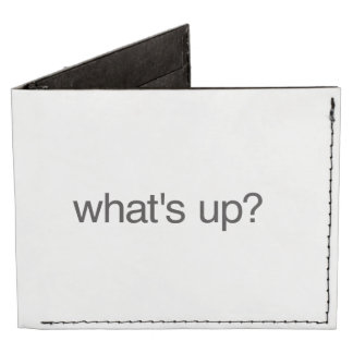 what's up? tyvek wallet