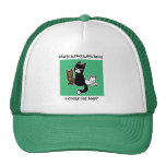 Whats wrong with being a crazy cat lady trucker hat