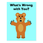 What's Wrong with You? Postcard