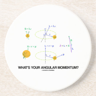 What's Your Angular Momentum? (Physics Diagrams) Coaster