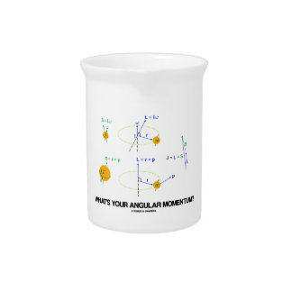 What's Your Angular Momentum? (Physics Diagrams) Beverage Pitchers