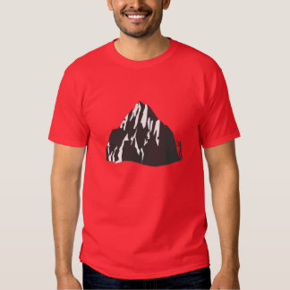 What's Your Everest front and back graphic Shirts