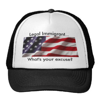 What's your excuse? Cap Trucker Hat
