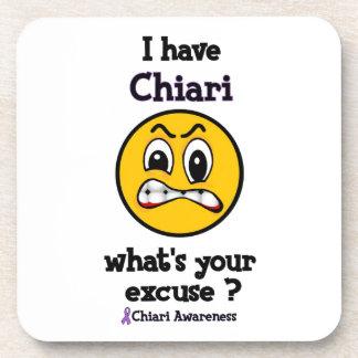 What's Your Excuse...Chiari Beverage Coaster