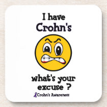 What's Your Excuse...Crohn's Coaster