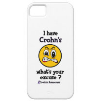 What's Your Excuse...Crohn's iPhone SE/5/5s Case