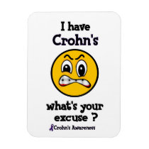 What's Your Excuse...Crohn's Magnet