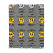 What's Your Excuse...Endometriosis Fleece Blanket