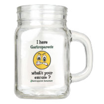 What's Your Excuse...Gastroparesis Mason Jar