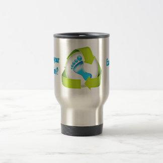 What's your footprint Travel Mug