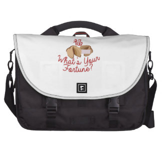 Whats Your Fortune Laptop Commuter Bag