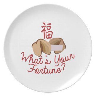 Whats Your Fortune Plate