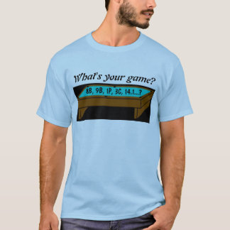 What's your game? T-Shirt / Tee Shirt