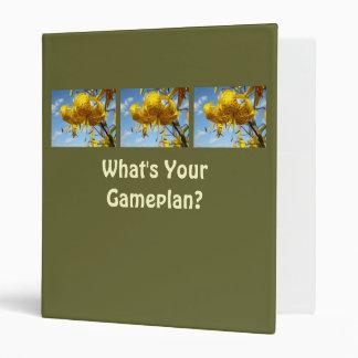 What's Your Gameplan? binder Game Plan School