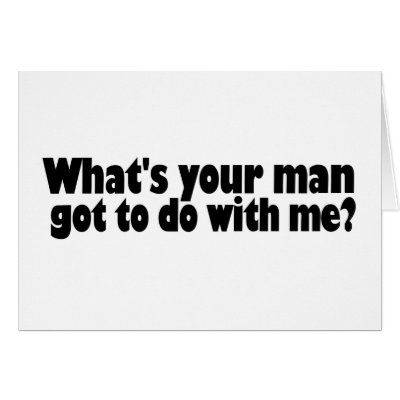 What's A Man To Do?