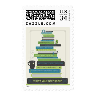 What's Your Next Book? Postage Stamps