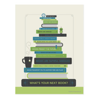 What's Your Next Book? Postcards