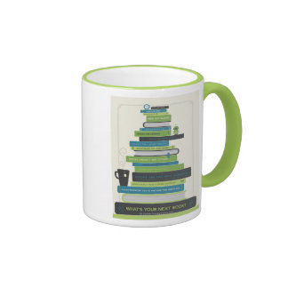 What's Your Next Book? Ringer Mug